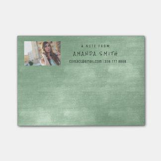 Photo Corporate Mint Green Chalkboard Post-it® Notes