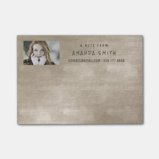 Photo Corporate Office Brown Ivory Chalkboard Post-it® Notes