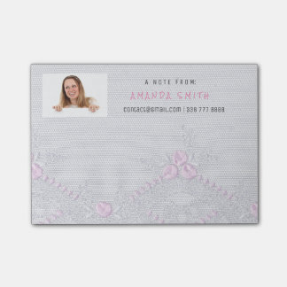 Photo Corporate Shop Customer Service Lace Post-it® Notes