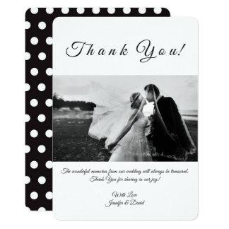 Photo Custom Thank You Card