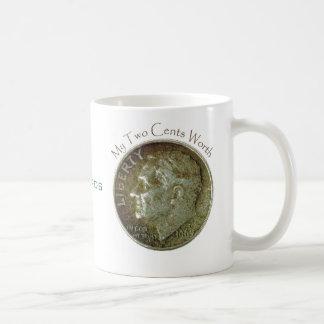 Photo Dime. Coffee Mug