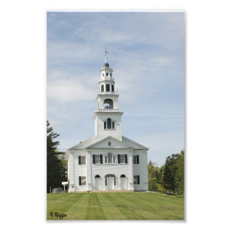 Photo Enlargement - New England Church
