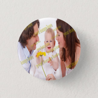 Photo Family Budget Template 3 Cm Round Badge