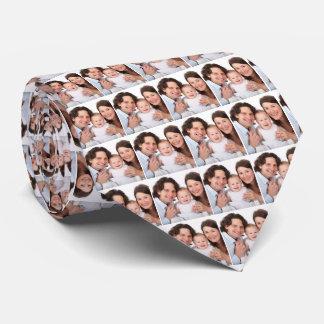 Photo Family Personalised Tie