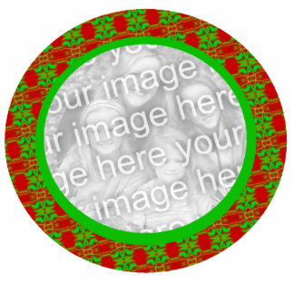 Photo Frame Christmas Ornament Acrylic Cut Outs