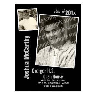 Photo Frame Grad Announcement Postcard
