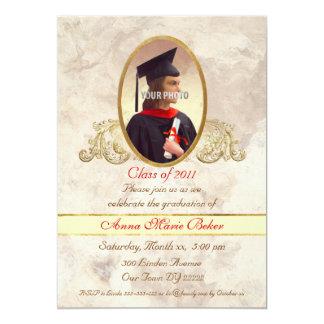 Photo Frame Graduation Celebration Card