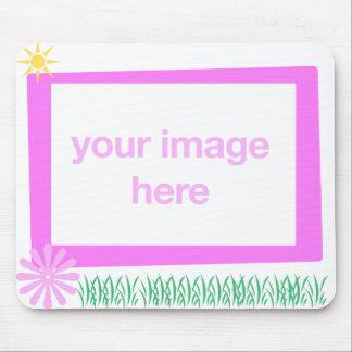 Photo Frame Mousepad Template