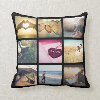 Photo gift throw pillow