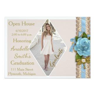 Photo Graduation Open House Invitation