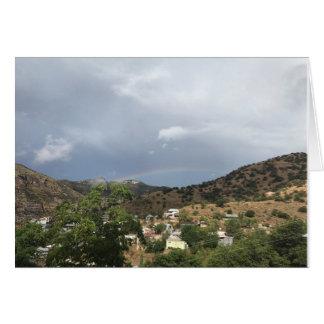 Photo greeting card from Bisbee, Arizona