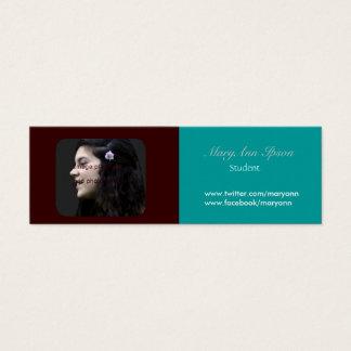 Photo Holder  Campus & Sudent Life Mini Business Card