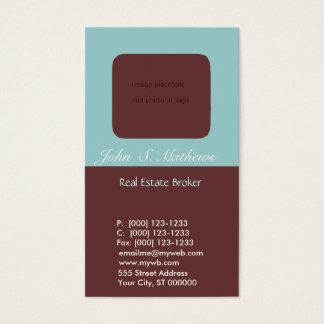 Photo Holder Real Estate Agent Real Estate Business Card