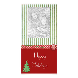 Photo Holiday Greeting Card Personalized Photo Card