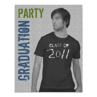 "Photo Insert Graduation 2011 Party Invitation 5 4.25"" X 5.5"" Invitation Card"