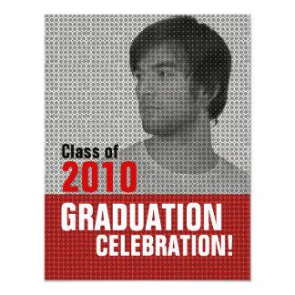 Photo Insert Graduation Party 3 Invitation