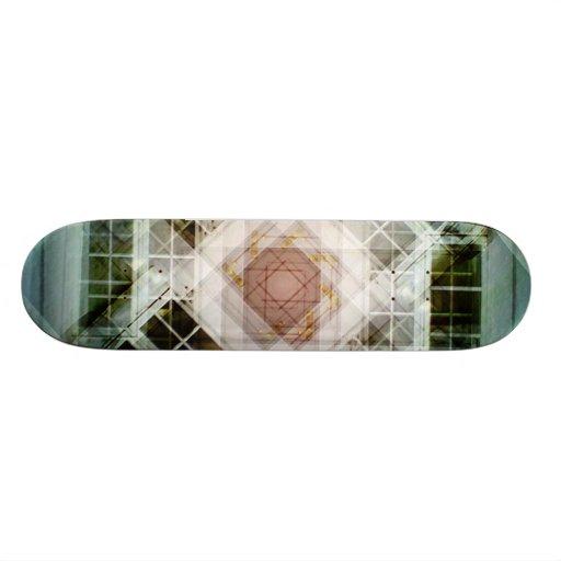 Photo kaleidoscope custom skate board