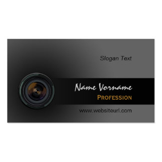 Photo Lens Pack Of Standard Business Cards