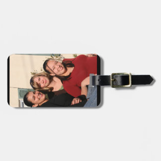 Photo Luggage Tag with Leather Strap