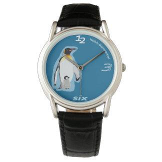 photo Lulu penguin clock Wristwatch