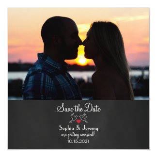Photo Magnet Save the Date