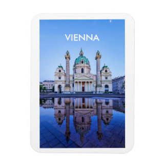 Photo Magnet with Vienna