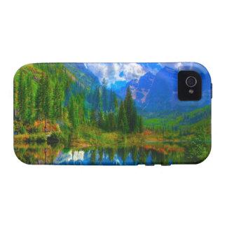 Photo Manipulation- Fictional Nature Landscape Vibe iPhone 4 Case