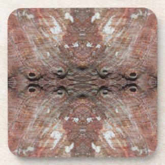 Photo-manipulation Sea Shell. Coasters