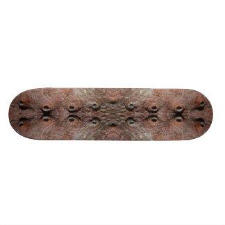 Photo-manipulation Sea Shell. Skate Board