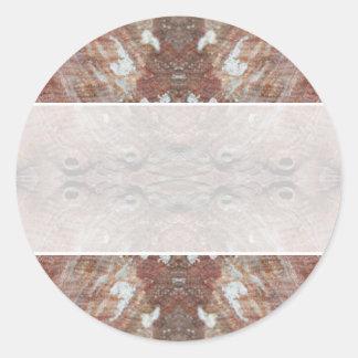 Photo-manipulation Sea Shell. Sticker