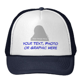 Photo & Message Hat