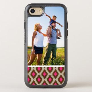Photo Modern ikat pattern OtterBox Symmetry iPhone 7 Case