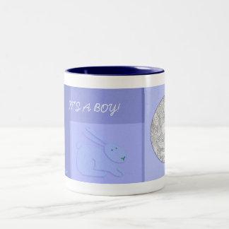 Photo Mug Template - Baby Announcement