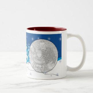Photo Mug Template - Christmas Star