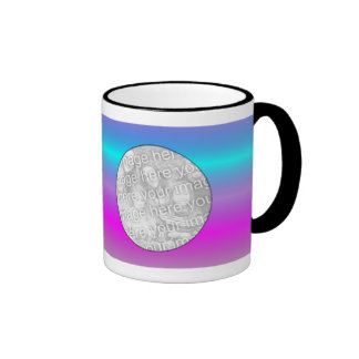 Photo Mug Template - Electric Stripes