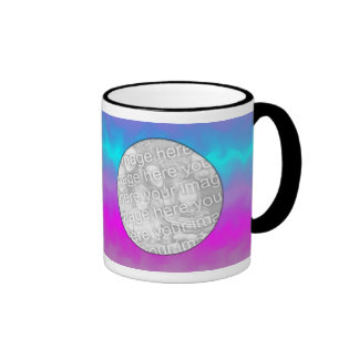 Photo Mug Template - Electric Swirl