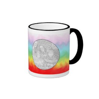 Photo Mug Template - Rainbow Swirl