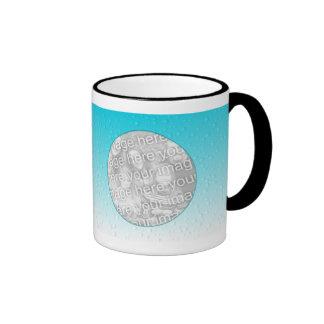 Photo Mug Template - Water Droplets