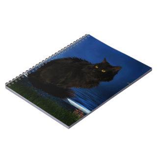 Photo note book Black Cat