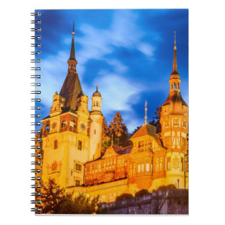Photo Notebook (80 Pages B&W) Peles castle