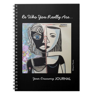 Photo Notebook (80 Pages B)-Who Are You?