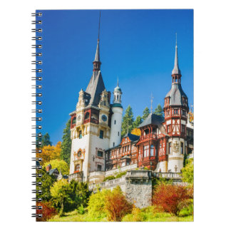 Photo Notebook Peles castle Sinaia