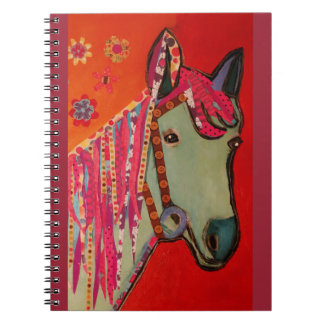 Photo Notebook with Cool Horse