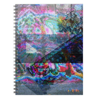Photo notebook with mosaic design