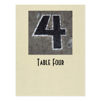 photo number 4 table true ivory postcard