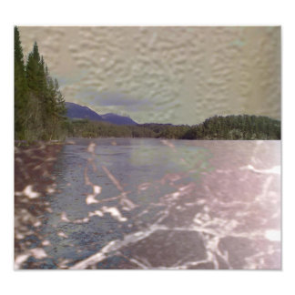 Photo of lake with Texture
