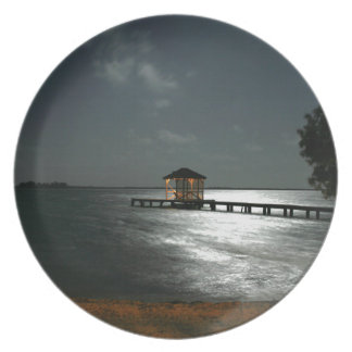 Photo of Moonlit Belize Cabana Party Plate