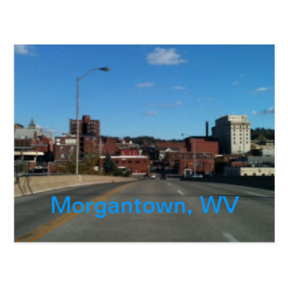 Photo of Morgantown WV skyline postcards