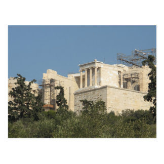 Photo of the Ancient Greek Parthenon from afar Postcard