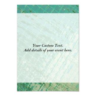 Photo picture of green plastic cover. 13 cm x 18 cm invitation card